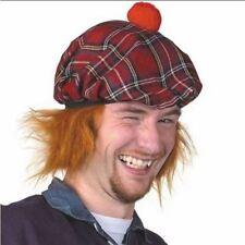 Childs 8-12 Royal Stewart Tartan 1 TAM /'O/' Shanter con i capelli Scottish Highland
