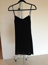 Plein Sud Black Enbellish Mini Dress Size xs