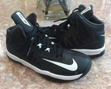 NIKE Air Max Stutter Step 2 Kids Black Basketball Sneakers Size 6.5Y #653754-001