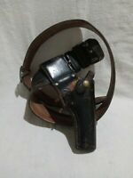 Vintage Hunter 3362A P2 Leather Gun Holster w/ Monarch # 42 Leather Belt