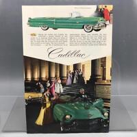 Vintage Magazine Ad Print Design Advertising Cadillac Automobiles