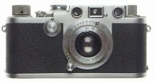 IIIF 3f Leica screwmount 35mm film rangefinder chrome camera 3.5 ELMAR f=5cm cap