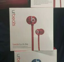 urBeats3 In-Ear Earphones with 3.5mm Plug Wired Headphones sealed red