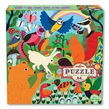Eeboo 64 Piece Puzzle - Busy Meadow
