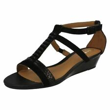Clarks Wedge Animal Print Sandals & Beach Shoes for Women