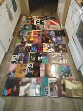 Huge Lot Of Vintage Vinyl Records- 72 Van Halen Led Zeppelin Prince ac/dc