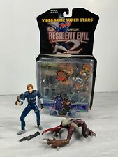 Resident Evil 2 LEON KENNEDY & LICKER Figures COMPLETE WITH BOX 1998 Toybiz