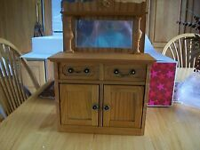 "American Girl REBECCA'S SIDEBOARD for 18"" Dolls Cabinet Drawers NEW in Box."