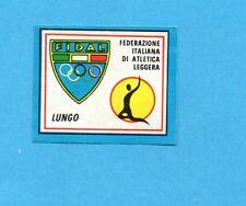 CAMPIONI SPORT 1969-70-PANINI-Figurina-5 A- LUNGO -Stemmino/Badge-Rec