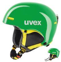 uvex hlmt 5 race Skihelm Snowboardhelm Helm green/yellow Alpin Ski Snowboard