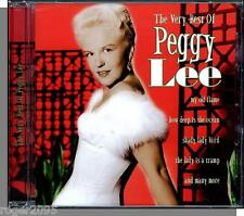 Peggy Lee - The Very Best of Peggy Lee - New 2000, 21 Song Canadian CD!