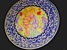 New Edna Hibel Plate Limbriana Rare Large Limited edition Only 165 Rare
