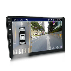 """9.0"""" 2DIN LVDS Screen Android 9.01 Wifi Car Stereo GPS FM Radio Player 2+32GB"""