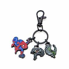 Marvel Black Ip and Base Metal Spioder-Man with Black IP Key Chain