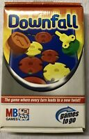 TRAVEL DOWNFALL GAME-GAMES TO GO-MB GAMES 2006 NEVER USED FACTORY SEALED PARTS