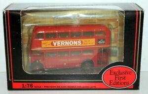 EFE 1/76 - 16404 AEC ROOF BOX RT LONDON TRANSPORT - VERNONS