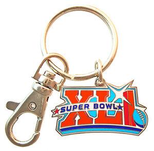 2007 NFL Super Bowl XLI Logo Key Chain - Chicago Bears vs Indianapolis Colts