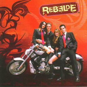 "REBELDE RBD Mexican POP Music Group in Bike 15"" x 15"" MICROBEAD THROW PILLOW New"