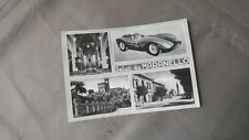 Saluti da Maranello postcard 1951 Enzo Ferrari 212 250 275 Scuderia GTO S MM