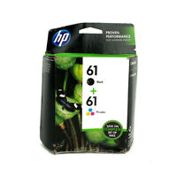 HP 61 2pack Combo Ink Cartridges CR311AA Black and Color NEW GENUINE