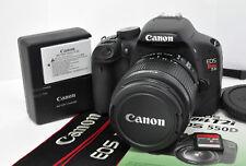 Canon EOS Rebel T2i 550D 18MP DSLR Digital Camera Kit w/EF-S 18-55mm IS II Lens