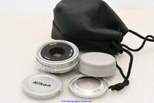 Nikon Nikkor 45mm F2.8 P AI-S Prime Pancake Lens AIS - Silver Nr. MINT CONDITION