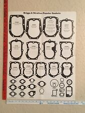 Vintage Posters - 1980 Briggs and Stratton Popular Gaskets Poster