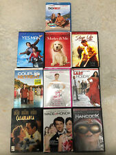 Lot Of 10 Micellaneous Dvds Casablanca Couples Retreat 50 First Dates Hancock
