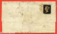 "SG. 2. A1 (2). AS41. "" IK "". 1d black. Plate 6. A good used example on cover."