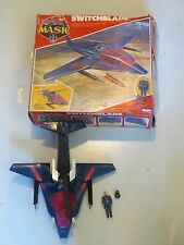 M.A.S.K. 1985 Switchblade w Miles Mayhem, complete w box