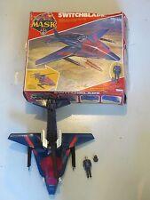 M.A.S.K. 1985 Switchblade w Miles Mayhem, complete w box