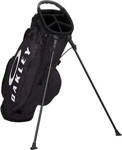 OAKLEY Golf Men's Caddy Bag 9.5 x 47 inch 2.8kg BLACK BG STAND 14.0 FOS900199