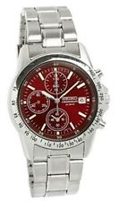 New Seiko Chronograph RED SBTQ045 Quartz Watch 100% Genuine product JAPAN