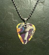 Iron Maiden Eddie Mummy Guitar Pick Dog Tag Style Necklace Pendant Charm Gift