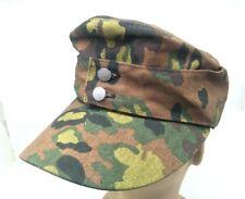 WWII WW2 GERMAN ARMY EM SUMMER PANZER M43 FIELD SPRING OAK CAMO CAP HAT XL