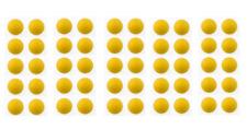 50 balles jaunes de COMPETITION babyfoot