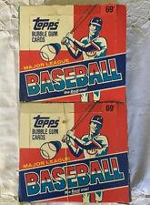 LOT OF (2) Boxes Of 1988 Topps Major League Baseball the Real one! Plastic Packs