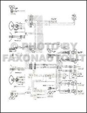 1974-1975 GMC Chevy 9000-9500 90-95 Conventional Wiring Diagram 8V-71 Diesel