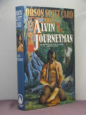 1st, signed by author, Alvin Maker 4: Alvin Journeyman by Orson Scott Card(1995)