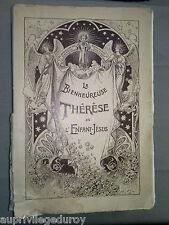Livre religieux ancien : La Bienheureuse Thérèse de l'Enfant-Jésus vers 1923