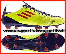 adidas F50 ADIZERO TRX FG Leder Gr.UK-12 G40337 Fb.ELECTR/INFRED/ANOPUR