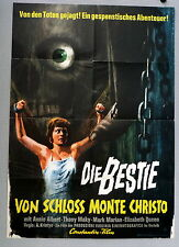 BESTIE VON SCHLOSS MONTE CHRISTO - A1-Filmposter EA - German1-Sheet 1964 HORROR