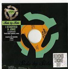 "The Bee Gees / Faith No More I Started a Joke 2016 7"" Green Vinyl Record Single"