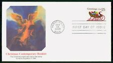Mayfairstamps US FDC 1989 Christmas Contemporary Booklet First Day cover wwf4229