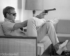 Steve Mcqueen - The King of Cool 8 x 10 / 8x10 GLOSSY Photo Picture IMAGE #2