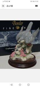 BORDER FINE ARTS SOCIETY THE STOOP PEREGRINE FALCON B0331 10th ANNIVERSARY Bird