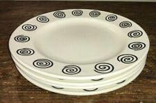 MIKASA ANSONIA CAA66 BY LAURIE GATES SET OF 4 SALAD /DESSERT PLATES USED wMARKS