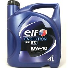 4 Liter elf EVOLUTION 700 STI 10W-40