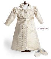 "CARPATINA Regency Redingote Coat Shoes Doll Clothes fits 18"" American Girl Doll"