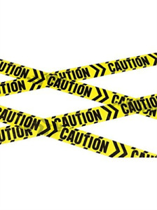 Caution Chevron Tape, Black & Yellow, 6m / 236in (US IMPORT) COST-ACC NEW